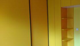 żółta zabudowa na zamówienie wandpark